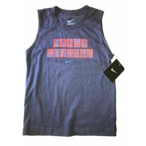 Nike Boy's CROWD PLEASER Muscle Shirt
